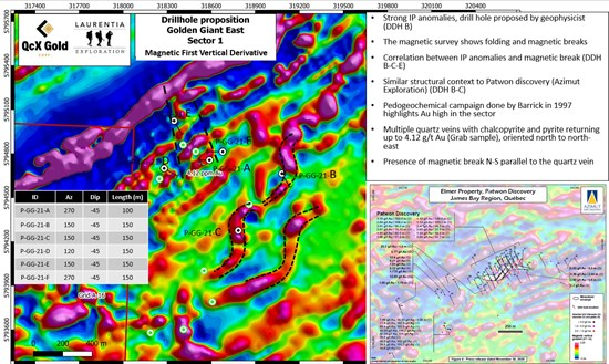 Cannot view this image? Visit: https://qcxgold.com/wp-content/uploads/2021/09/1632015476_661_QcX-Gold-Commences-Drilling-at-Golden-Giant-James-Bay-Quebec.jpg